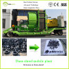 Dura-Shred Continuous Scrap Tire Shredder (Mobile Plant)