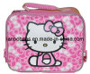 School Insulated Pink Bows Tote Cooler Lunch Bag