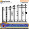 Hot Dipped Galvanizing Wrought Iron Gate