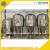Beer Brewing Fermenter, Conical Fermenter with Cooling Jacketed