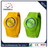 Fashion Promotion Cheap Sport Ladies Bracelet Slap Silicone Watch (DC-101)
