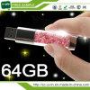 Waterproof Gift USB Flash Disk Crystal USB Flash Drive