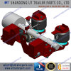 9 Tons Air Suspension for 146mm Round Drum and Disc Brake Grooved Axles
