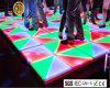 Party 100cmx100cm Acrylic Colorful LED Dance Floor RGB Dance Floor
