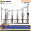 Solid Bar Wrought Iron Gate