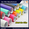 Self Adhesive Vinyl Glossy Colors Car Wrapping Vinyl Film, Car Matt Vinyl Wrap