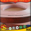 Wood Grain Color/Red Blue Color PVC Edge Banding with Good Quality