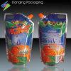 Orange Juice Pouch250ml with Corner Spout