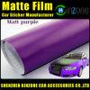 Matte Blue Car Wrap Film/Car Matt Vinyl Sticker/Matt Green Car Wrapping Film