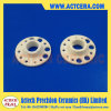 Customized Manufacturing Precision 99% Al2O3 Parts/Alumina Ceramic Flange Plate