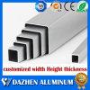 Anodized Silver Aluminum Alloy Square Rectangular Tube Aluminium Extrusion Profile