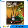 Solar Light Candle Mobile Hanger