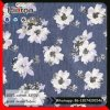 100% Cotton Floral Print Denim Fabric 32*32