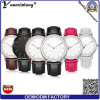 Yxl-592 Vogue Stylish Leather Strap Watch, Quartz Wrist Watch for Women and Men