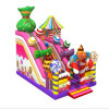Newly Sweety Candy Inflatable Slide Inflatable Children Bouncy Castle