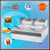 1 Tank 2 Baskets Electric Deep Fryer Manufacturer Selling
