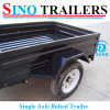 Single Axle Farming Box Trailer for Australian Conditon