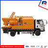 Truck Mounted Concrete Pump with Twin-Shaft Mixer