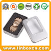 Metal Tin Box with Transparent Window for Finger Fidget Spinner