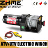 12 Volt 3000lbs UTV Electric Fast Line Speed Winch with Wire Rope