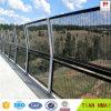 Black Color Welded Metal Fence for Highway Railway Bridge