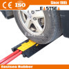 2 Channels Yellow Jacket Traffic Rubber Cable Protector