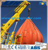 Heave Compensation System Telescopic Boom Ship Deck Crane for Rov