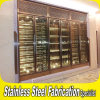 Custom Made KTV Bar Stainless Steel Wine Cabinet