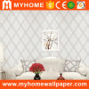 Low Price White Striped Wallpaper for Wall Decoration