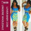 Sexy Blue Dress Woman′s Fashion Skirt (L27631)
