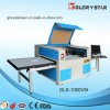 Irregular Embroidery Badges Laser Cutting Machine with Movable and Exchanging