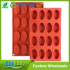 2 Pack Silicone Oval Cake Baking Biscuit Chocolate Mold