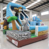 Lovely Inflatable Safari Slide (AQ01408)