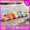 2015 Popular Preschool Wooden Pull Truck Toy Set, Kids′ Woodn Pull Truck Toy Set, Pretend Play Truck Toy Wooden Pull Set W05c033
