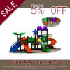 Hot Sale Plastic Playground Slide with SGS Certificate (X1516-4)