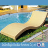 Leisure Patio Furniture Wave Shape Sun Chaise Lounge