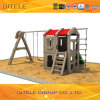 New Children Plastic Indoor Playground Playhouse with Swing (PA-001)