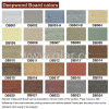 Exterior/Interior Wall Decoration / Coloured Fiber Cement Siding Board