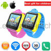 2017 Hot Selling 3G Kids GPS Tracker Watch with Real Map D18