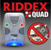 Riddex Quad Pest Repelling Aid Features Sonic Pest Repelling Aid
