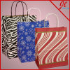 Printed Patterns Paper Shopping Bags Gift Bags