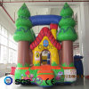 Coco Water Design Forest Theme Inflatable Castle for Sale LG9042