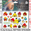 Cartoon Body Art Tattoo Sticker (cg066)