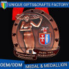 Personalized Copper Plated Metal Souvenir Medal