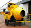 Mobile Bucket Hoist Type Mini Concrete Mixer Construction Machine