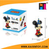 Mouse Funny Cartoon Design Plastic Nano Block Toys with En71