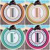 Round Printed Letter Beach Towel Microfiber Terry Cloth Plus Tassel Bath Towel