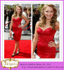 Elegant Custom Made Red Sweetheart Sheath Short Bandage Dress Celebrity (SR80)