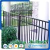 Three Rail Commerical Wrought Iron Fencing