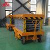 Hydraulic Mobile Lift Ladder Price, Retractable Scissors Lift Platform Aerial Work Platform
